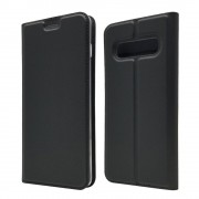 Viser Slim flip cover Galaxy S10 sort