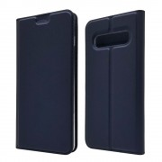 Viser Slim flip cover Galaxy S10 blå