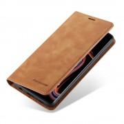 brun Vintage etui Samsung S10 Mobil tilbehør