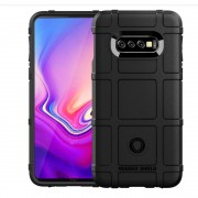 Galaxy S10e Rugged shield case sort Mobil tilbehør
