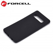 Forcell tpu case Galaxy S10 plus sort Mobil tilbehør
