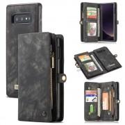sort 2 i 1 cover med multi lommer Samsung S10e Mobil tilbehør