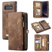 brun 2 i 1 cover med multi lommer Samsung S10e Mobil tilbehør