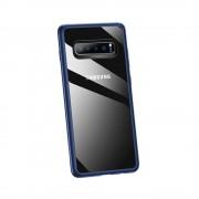 blå Combi cover Samsung S10+ Mobil tilbehør