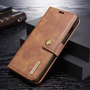 brun 2 i 1 cover Galaxy S10 plus Mobil tilbehør