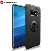 Samsung S10e Forcell ring cover sort Mobil tilbehør