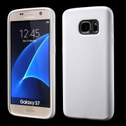 SAMSUNG GALAXY S7 silikone bag cover hvid