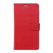 Cover ægte læder rød Galaxy J5 2016 Mobil tilbehør