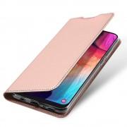 rosaguld Slim flip cover Samsung A50 Mobil tilbehør