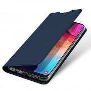 blå Slim flip cover Samsung A50 Mobil tilbehør