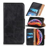 sort Elegant læder cover Samsung A50 Mobil tilbehør