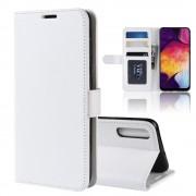 hvid Vilo flip cover Samsung A50 Mobil tilbehør