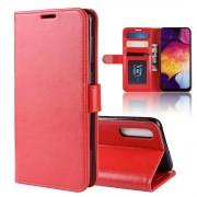 rød Vilo flip cover Samsung A50 Mobil tilbehør