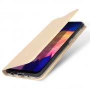 guld Slim flip etui Samsung A10 Mobil tilbehør