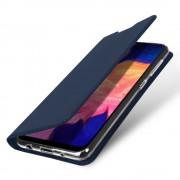 blå Slim flip etui Samsung A10 Mobil tilbehør