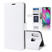 hvid Vilo flip etui Samsung A40 Mobil tilbehør