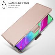rosaguld S-line slim flip cover Samsung A40 Mobil tilbehør