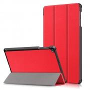 rød 3 folds cover Samsung Tab A 10.1 (2019) Ipad og Tablet tilbehør