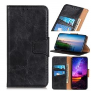 sort Elegant læder cover Samsung A20e Mobil tilbehør