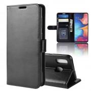 sort Vilo flip cover Samsung A20e Mobil tilbehør
