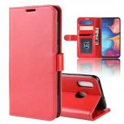 rød Vilo flip cover Samsung A20e Mobil tilbehør