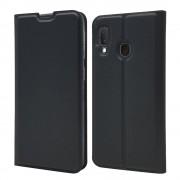 sort Slim flip cover Samsung A20e Mobil tilbehør