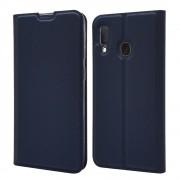 blå Slim flip cover Samsung A20e Mobil tilbehør