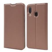 rosaguld Slim flip cover Samsung A20e Mobil tilbehør