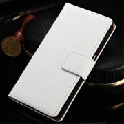 SAMSUNG GALAXY S7 EDGE split læder cover med kort lommer hvid, Mobiltelefon tilbehør