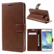 brun Cover med lommer Samsung Galaxy A5 2016 Mobil tilbehør