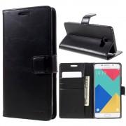 sort Cover med lommer til Samsung Galaxy A5 2016 Mobil tilbehør