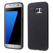 SAMSUNG GALAXY S7 EDGE tpu cover sort, Mobiltelefon tilbehør