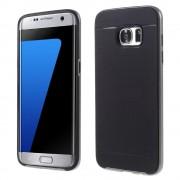 SAMSUNG GALAXY S7 EDGE tpu cover grå, Mobiltelefon tilbehør
