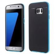 SAMSUNG GALAXY S7 EDGE tpu cover lyseblå, Mobiltelefon tilbehør