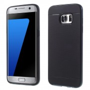SAMSUNG GALAXY S7 EDGE tpu cover blå, Mobiltelefon tilbehør