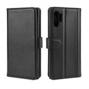sort Flip etui læder Samsung Note 10 plus Mobil tilbehør