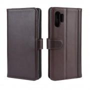 brun Flip etui læder Samsung Note 10 plus Mobil tilbehør