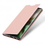 rosaguld Slim flip cover Samsung Note 10 Mobil tilbehør