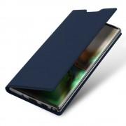 blå Slim flip cover Samsung Note 10 Mobil tilbehør