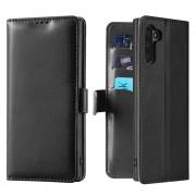 Samsung Note 10 Kado flip etui sort Mobil tilbehør