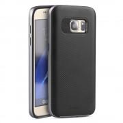 SAMSUNG GALAXY S7 hybrid bag cover grå,Mobiltelefon tilbehør