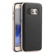SAMSUNG GALAXY S7 hybrid bag cover rosa guld,Mobiltelefon tilbehør