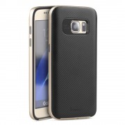 SAMSUNG GALAXY S7 hybrid bag cover guld,Mobiltelefon tilbehør