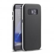 SAMSUNG GALAXY S7 EDGE hybrid bag cover sølv, Mobiltelefon tilbehør