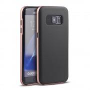 SAMSUNG GALAXY S7 EDGE hybrid bag cover rosa guld, Mobiltelefon tilbehør