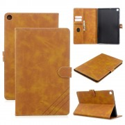 brun Retro cover Samsung Tab A 10.1 (2019) Ipad og Tablet tilbehør