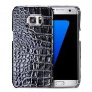 SAMSUNG GALAXY S7 EDGE cover håndlavet sort Mobiltelefon tilbehør