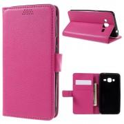 SAMSUNG GALAXY J3 cover pung rosa Mobiltelefon tilbehør