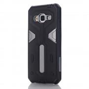 Samsung Galaxy J3 cover hybrid armor grå Mobiltelefon tilbehør