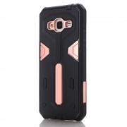 Samsung Galaxy J3 cover hybrid armor pink Mobiltelefon tilbehør